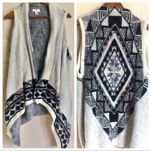 Entro Aztec Sweater Vest
